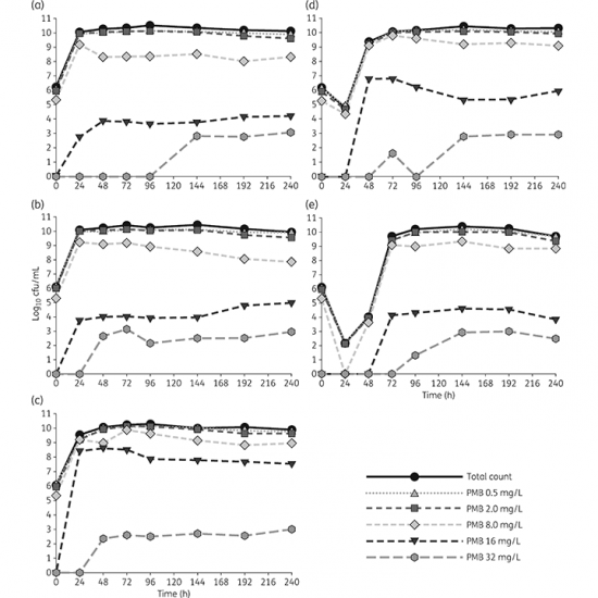 Pharmacodynamics of dose-escalated 'front-loading' polymyxin B regimens against polymyxin-resistant mcr-1-harbouring Escherichia coli