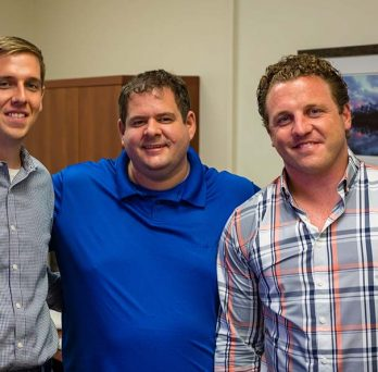 Drs. Zackery Bulman, Juergen Bulitta, and Eric Wenzler