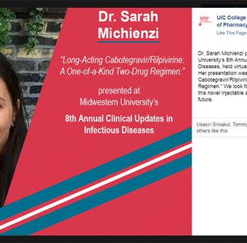 Dr. Sarah Michienzi served as a presenter at Midwestern University's 8th Annual Clinical Updates in Infectious Diseases