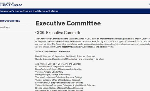 Dr. Rodrigo Burgos has been selected to serve on the CCSL